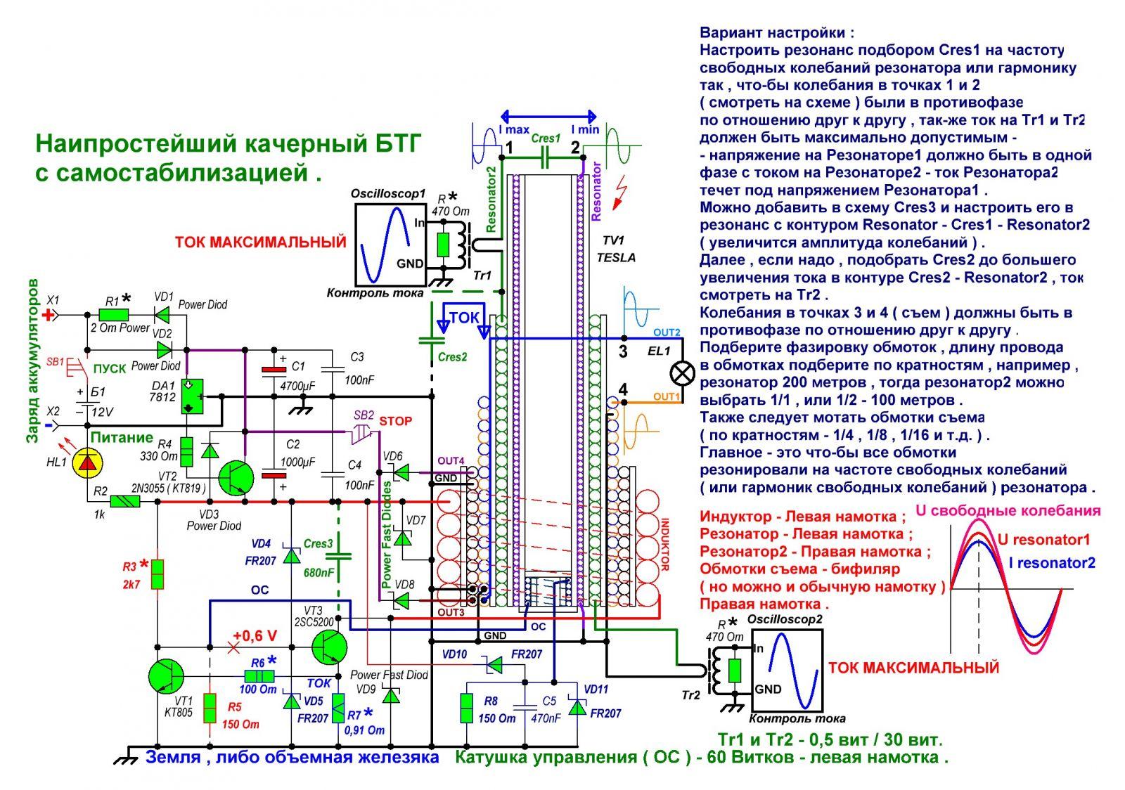 Генератор свободной энергии: схемы, инструкции, описание, как 20