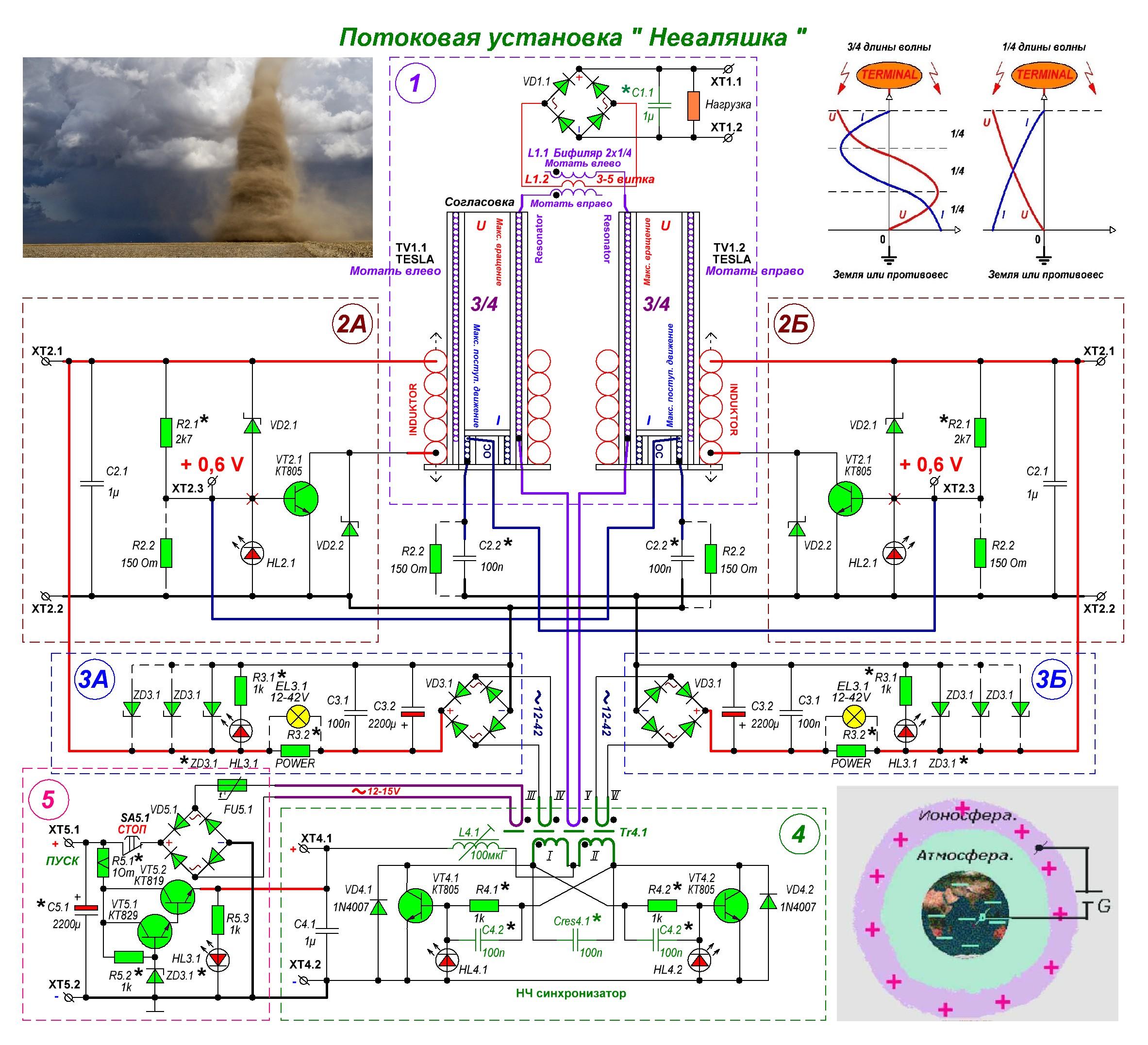 Генератор энергии своими руками схема и описание