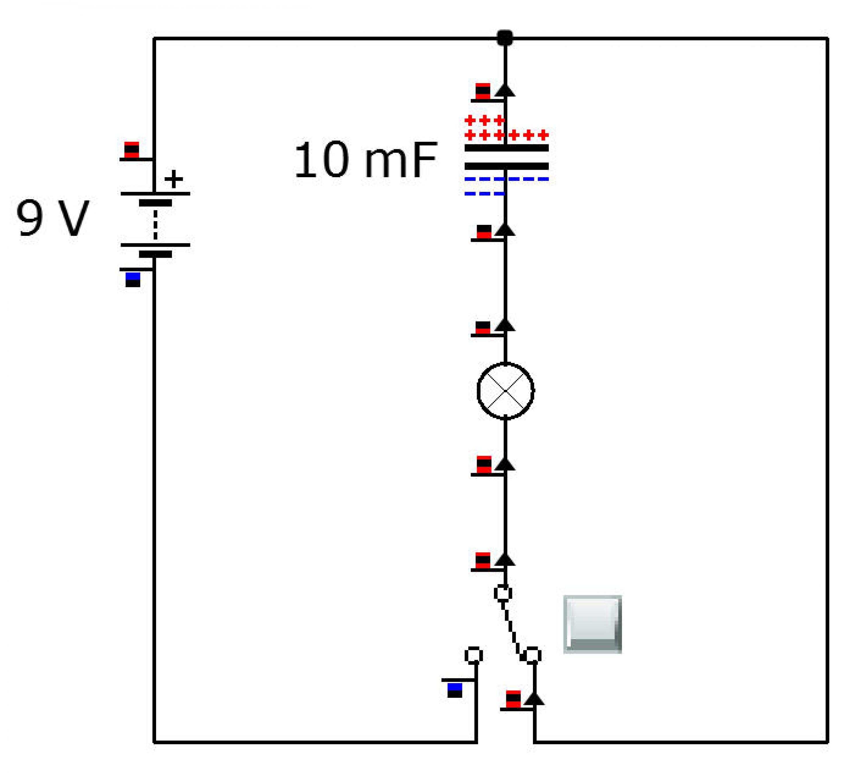 эканомия электроэнергии конденсатором схема